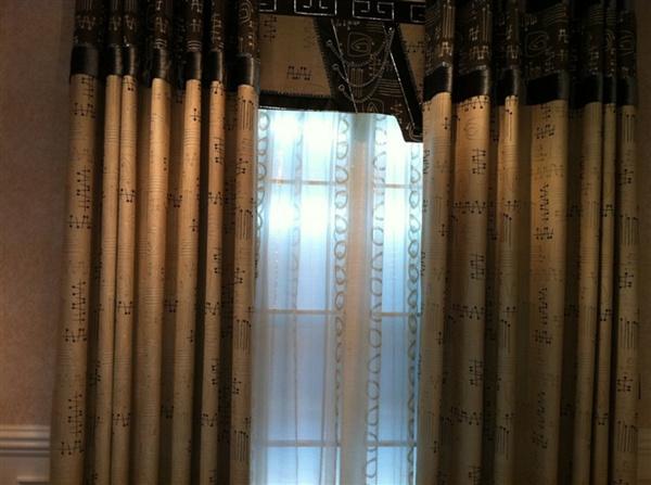 树叶手工制作图片大全窗帘